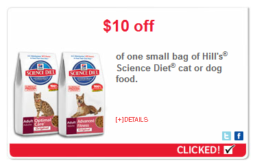 Hill's science diet kd coupons